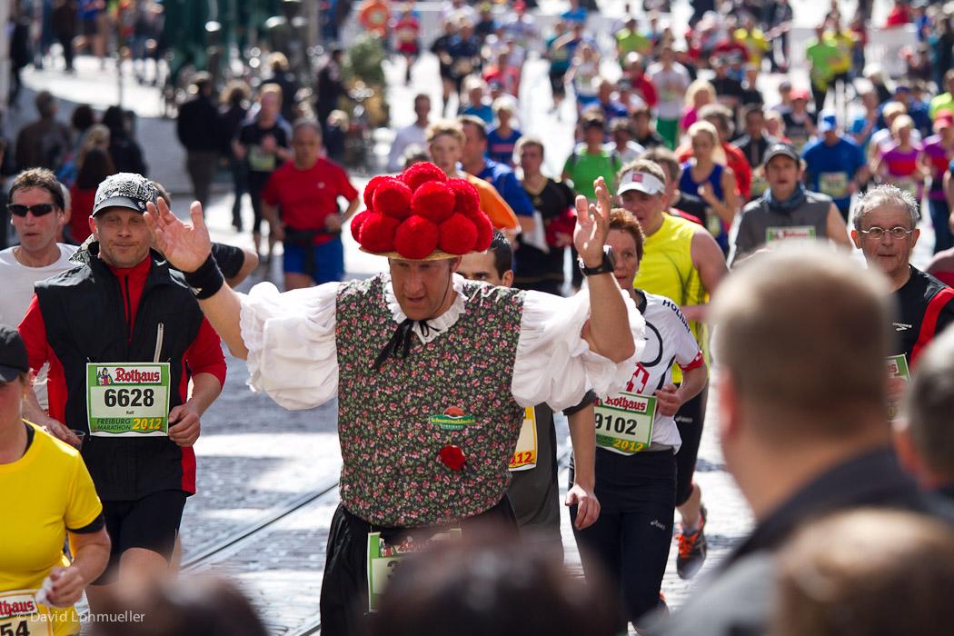 Freud und Leid beim Freiburg Marathon