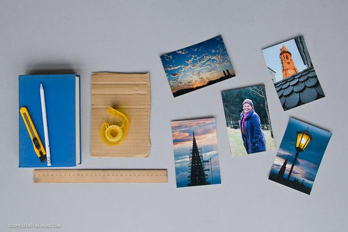 Geschenkidee: Buch + Bild = Fotorahmen
