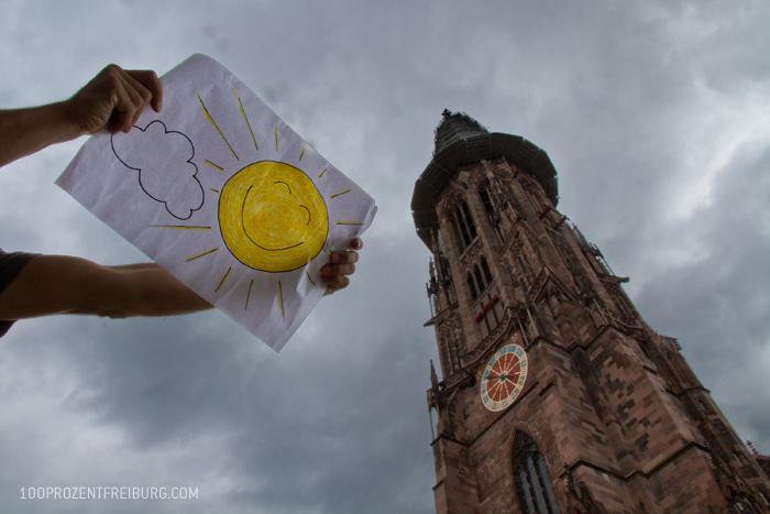 In Freiburg scheint immer die Sonne!