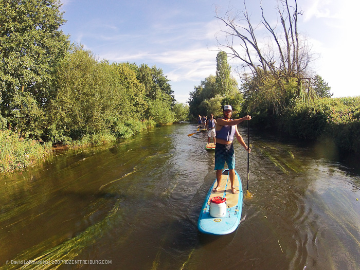 Stand-up-Paddling in Freiburg (15)