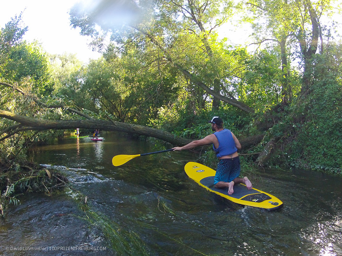 Stand-up-Paddling in Freiburg (23)