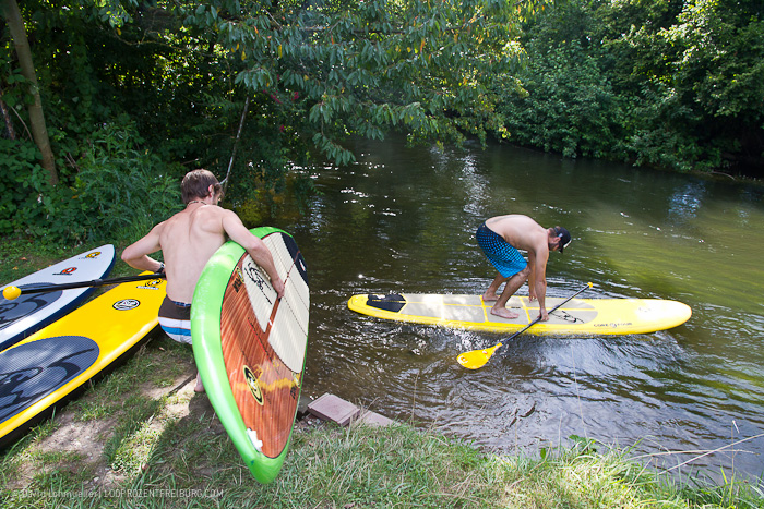 Stand-up-Paddling in Freiburg (3)