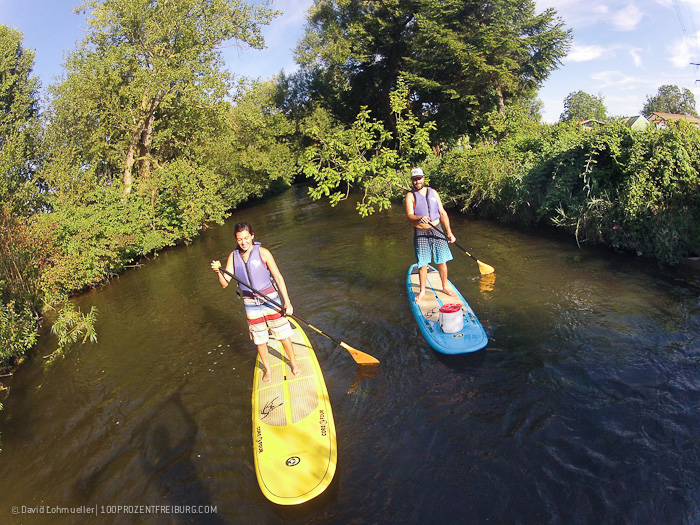 Stand-up-Paddling in Freiburg (30)