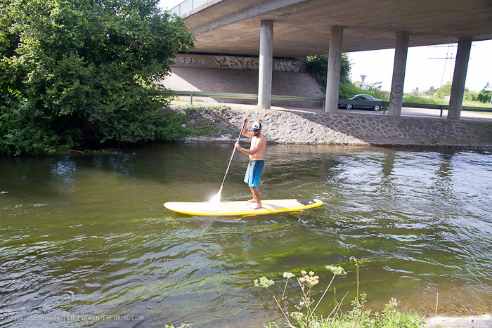 Stand-up-Paddling in Freiburg (4)