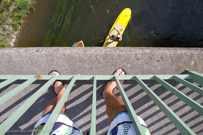 Stand-up-Paddling in Freiburg (5)