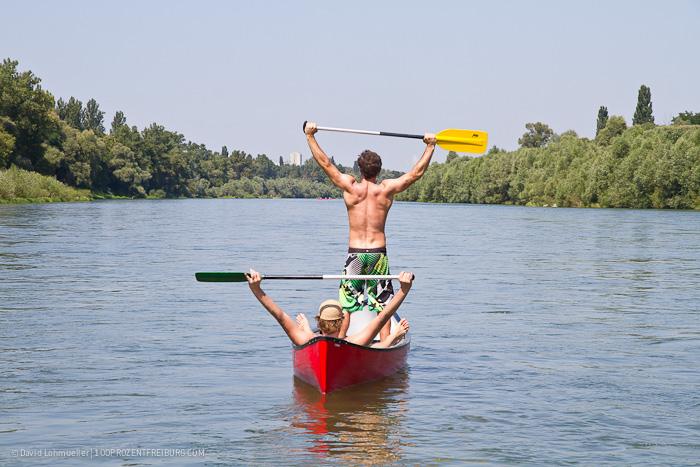 Wasserwandern: Im Kanu zum Kaiserstuhl