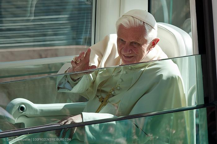 Das Fenster zum Papst