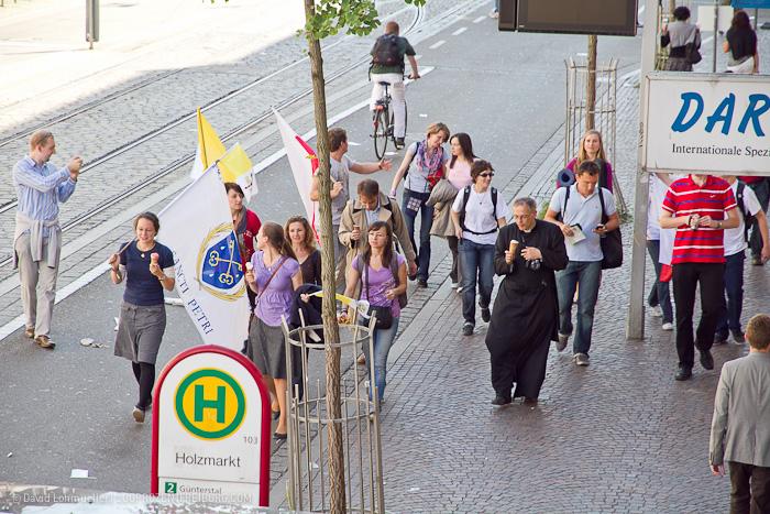 Papstbesuch in Freiburg (6)
