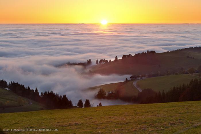Sonnenuntergang Schauinsland (2)