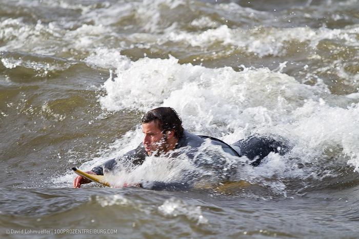 Surfen auf der Dreisam (5)