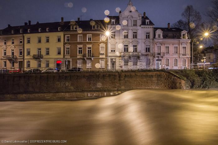 Hochwasser: Land unter in Freiburg