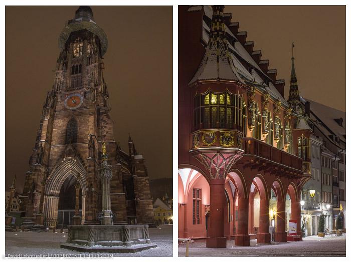 Freiburger Münsterplatz im Schnee (11)