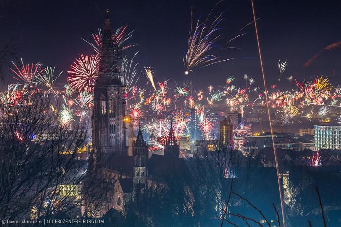 Silvester Feuerwerk Freiburg (1)