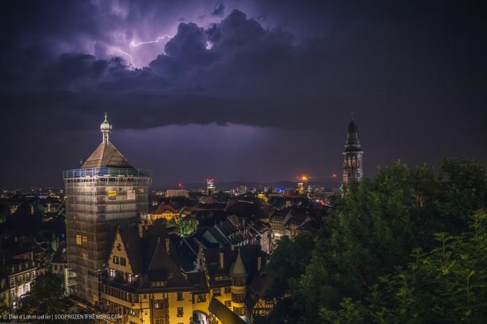 Sommergewitter in Freiburg (3)