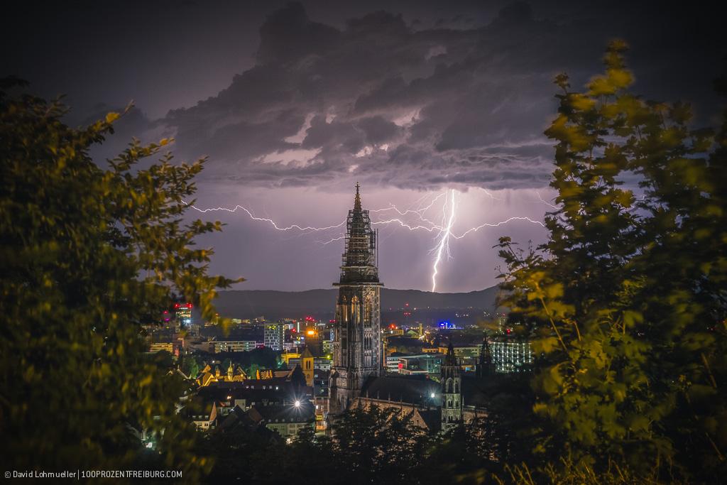 Sommergewitter in Freiburg