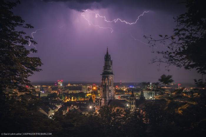 Sommergewitter in Freiburg (4)