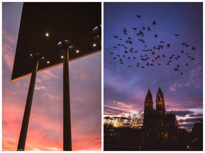 Freiburg Sonnenuntergang (1)