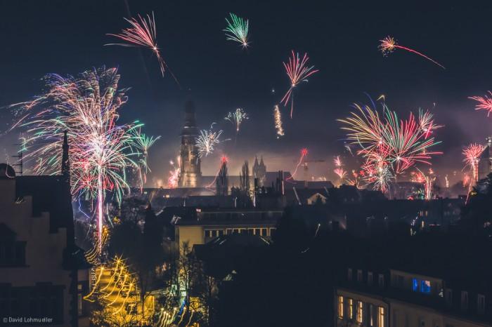 Silvester in Freiburg (1)
