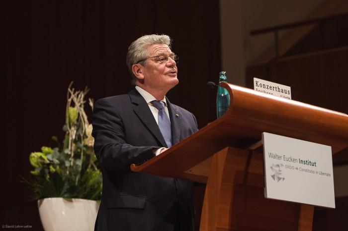 Joachim Gauck in Freiburg (15)