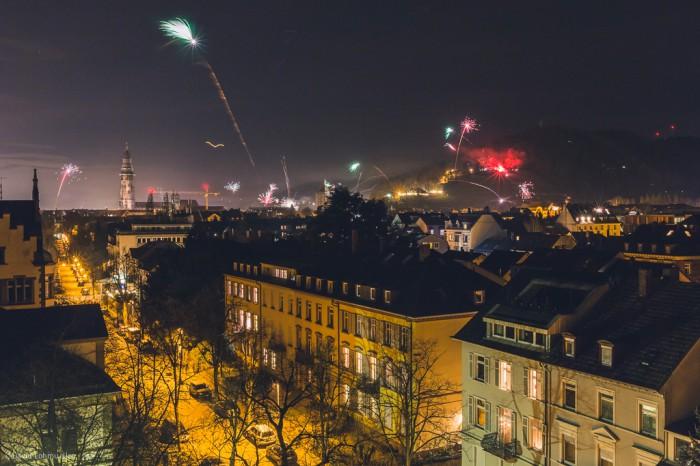 Silvester in Freiburg (2)