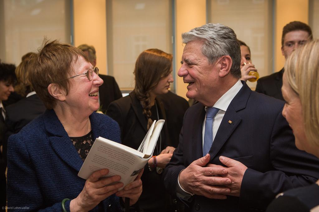 Bundespräsident Gauck in Freiburg