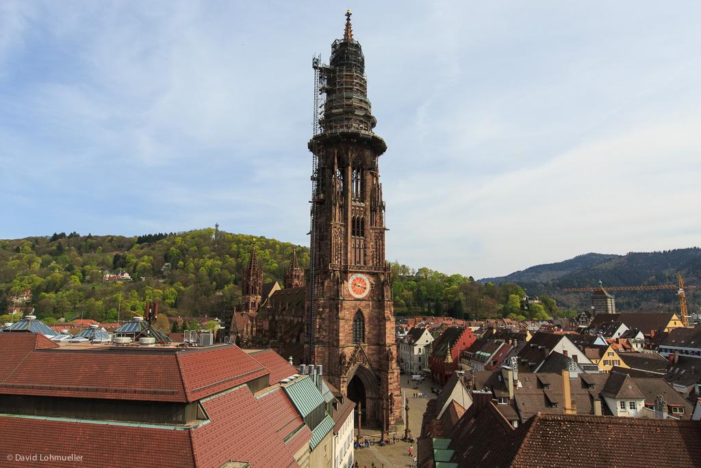 Eine neue Aussicht auf Freiburg