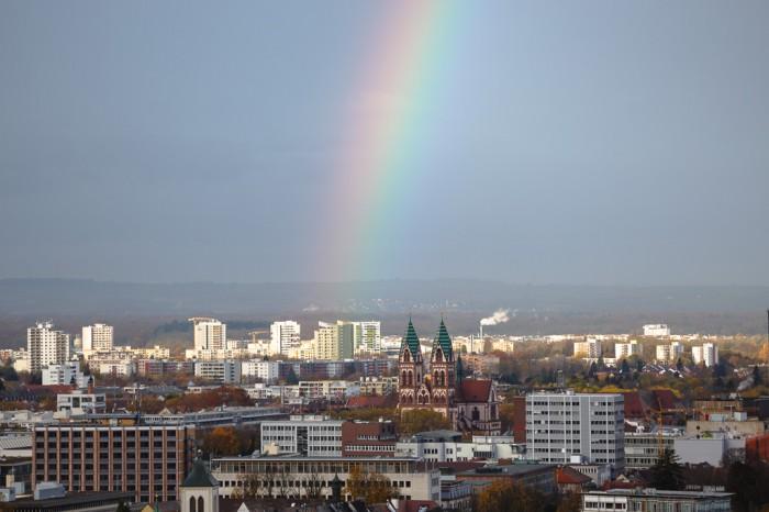 Freiburg Regenbogen