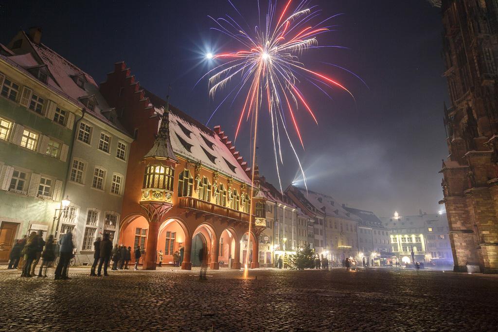Freiburg feiert Silvester