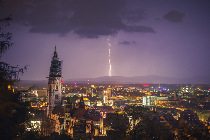Freiburg Gewitter
