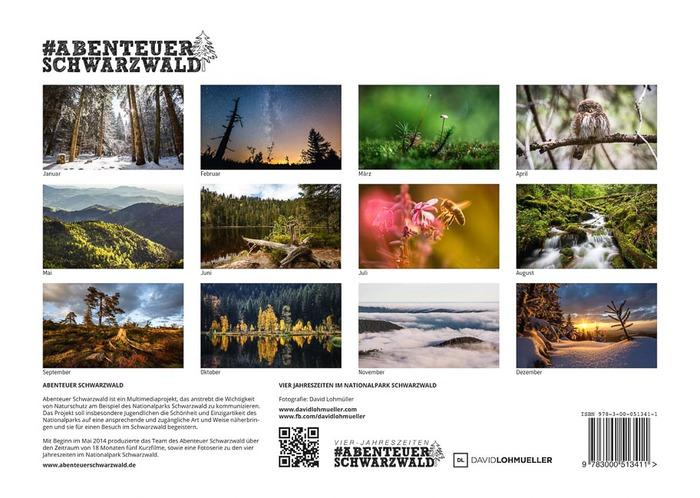 Schwarzwald Kalender Übersicht