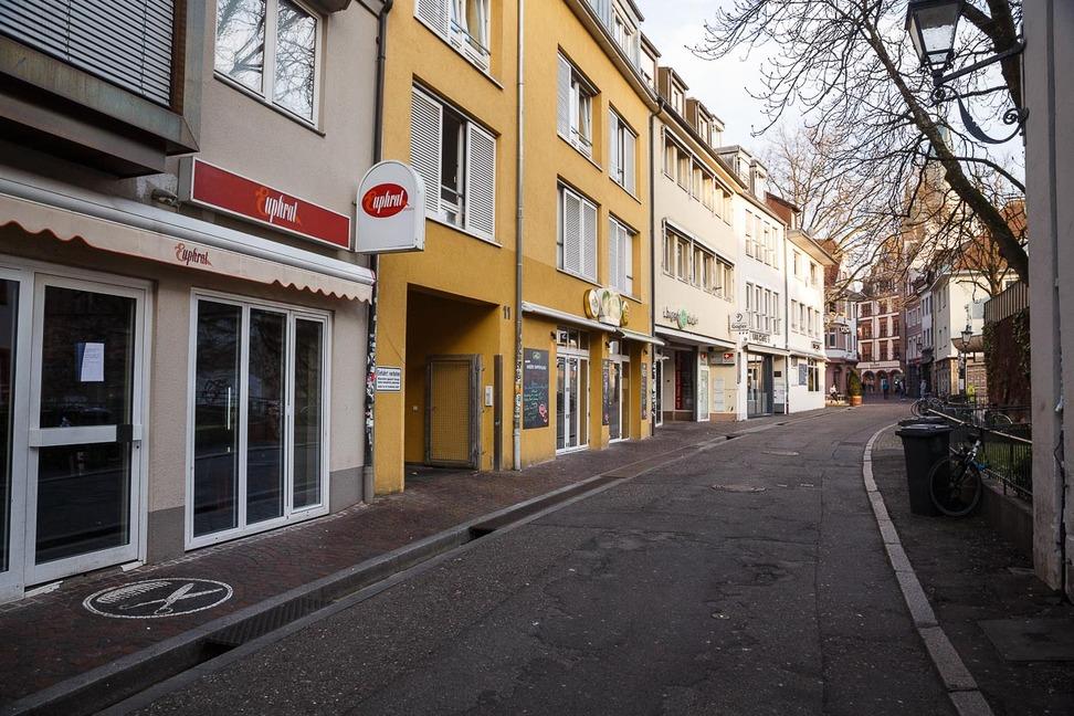 Freiburg im Corona Lockdown (49)
