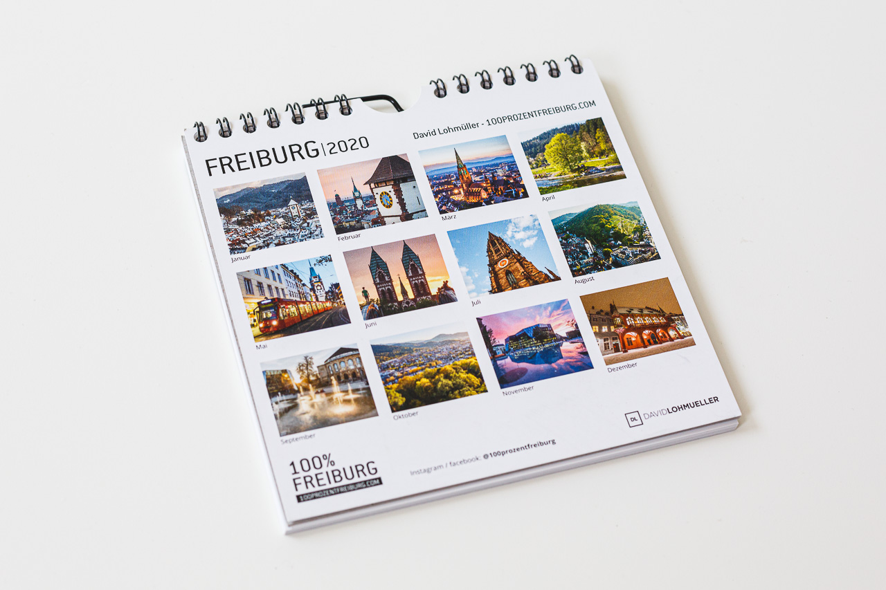 Wandkalender Freiburg