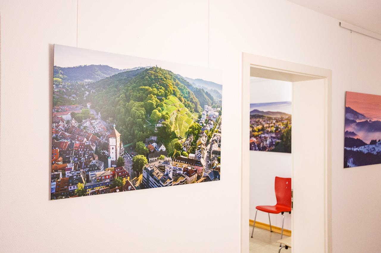 Bildermiete - Freiburg und Schwarzwald Wandbilder