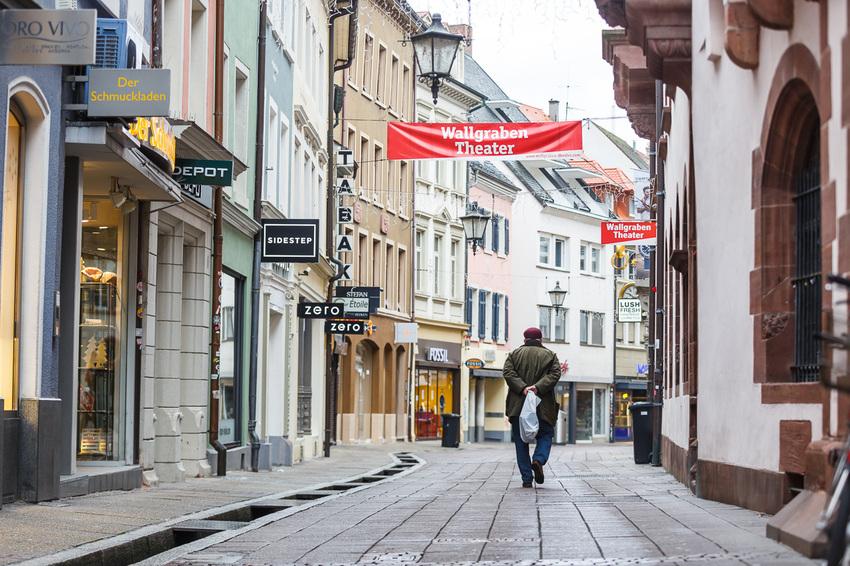 Freiburg im zweiten Corona Lockdown