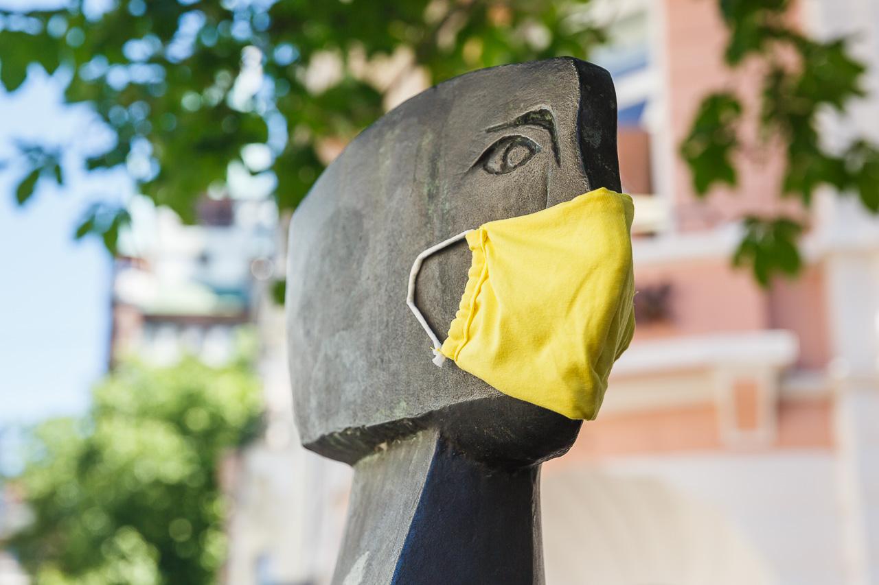 Ein Jahr Maskenpflicht