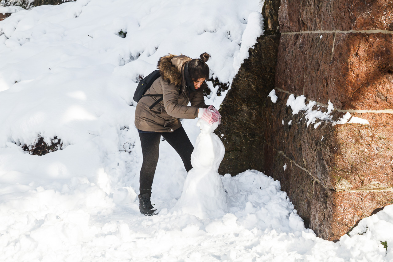 Die lustigsten Schneemänner des Jahres